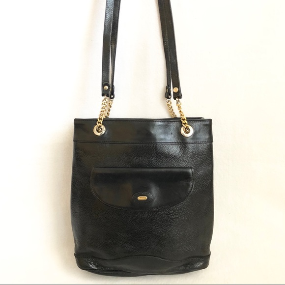 Bally Handbags - Authentic Bally VINTAGE Leather Bag